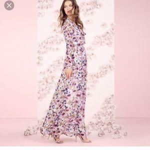 Lauren Conrad LC Runway long sleeve maxi dress 👗